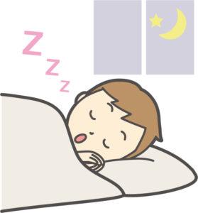 スグ眠れる方法(シャッフル睡眠法)