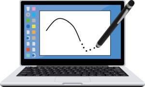 「おえかきの森」でタッチペンで上手く描けない(線が点)時の対処方法!