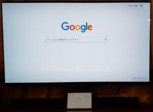 Chromecast built-in搭載テレビに画面をキャストする方法